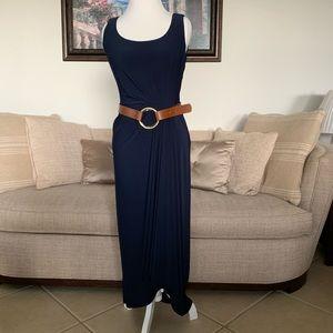 Ralph Lauren Blue Long Dress Size 10